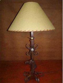 Horse Head Metal Lamp