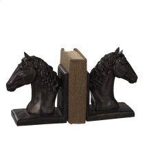 Horse Bookend Pair.