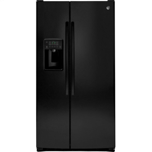 GE ®ENERGY STAR® 25.3 Cu. Ft. Side-By-Side Refrigerator