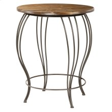 Base Only Bella Iron Bar Table