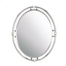 Pocelona Collection Pocelona Vintage Mirror in Chrome Product Image