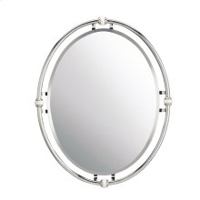 Pocelona Collection Pocelona Vintage Mirror in Chrome