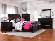 Farnsworth Sleigh Bed, Queen