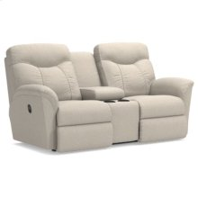 Fortune La-Z-Time® Full Reclining Loveseat w/ Console