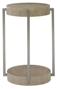Mosaic Round End Table