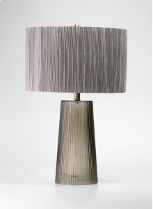 Club Table Lamp Smoked Gray
