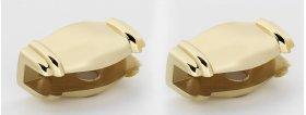 Charlie's Collection Shelf Brackets A6750 - Polished Brass