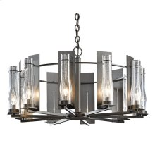 New Town 10 Arm Chandelier