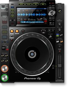 Pro-DJ multi player with high-res audio support (black)