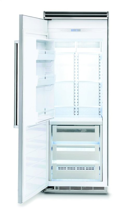 "30"" Custom Panel All Freezer, Left Hinge/Right Handle"