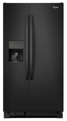 33-inch Wide Side-by-Side Refrigerator with Water Dispenser - 21 cu. ft.