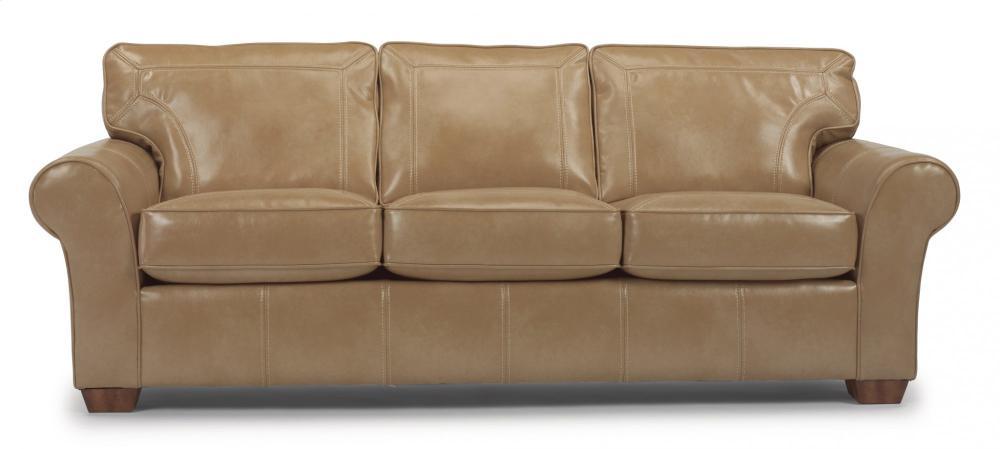 Vail NuvoLeather Three Cushion Sofa
