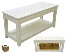 Cottage Plank Bench