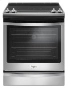 6.4 Cu. Ft. Front Control Electric Range with True Convection Product Image