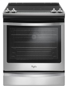 6.4 Cu. Ft. Front Control Electric Range with True Convection