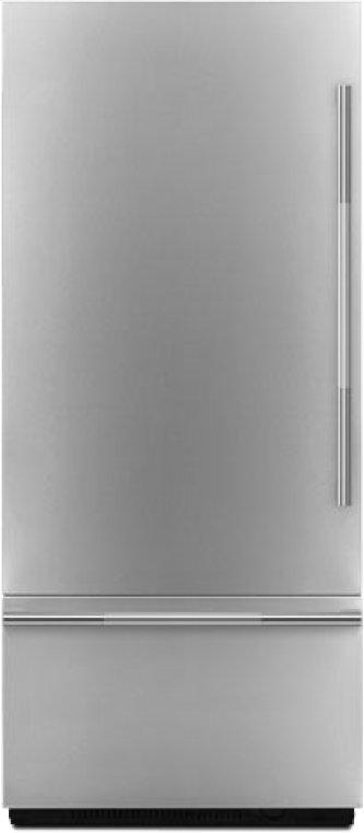 "Pro-Style(R) 36"" Fully Integrated Built-In Bottom-Freezer Left-Hand Door Swing Panel-Kit, Stainless Steel"