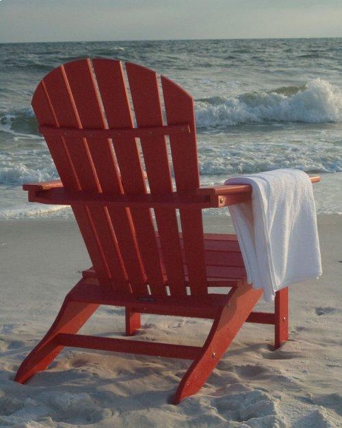 Sunset Red South Beach Adirondack