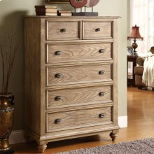 Coventry - Five Drawer Chest - Weathered Driftwood Finish