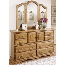 Master-piece Dresser w/ Mirror