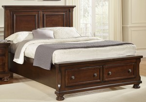 Mansion Bed with Storage (Queen) Mansion Bed (Queen)