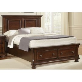 Mansion Bed with Storage (Queen)