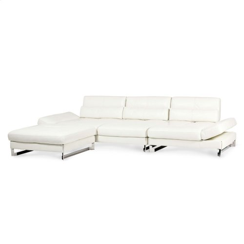 Marco 3 PC Leather Sectional Set