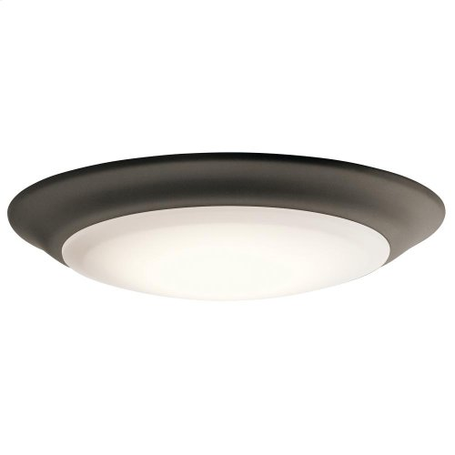 1 Light 2700K LED Flush Mount OZ