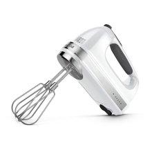 9-Speed Hand Mixer - White