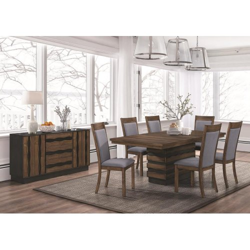 Octavia Rustic Five-piece Dining Set