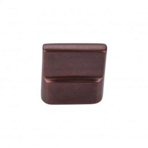 Aspen Flat Sided Knob 7/8 Inch (c-c) - Mahogany Bronze