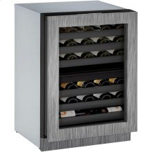 "24"" 3000 Series Wine Captain, Right Hand Door, Integrated Frame"