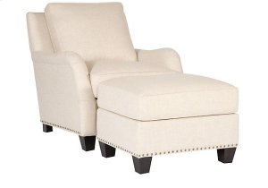 Santa Cruz Fabric Chair, Santa Cruz Ottoman
