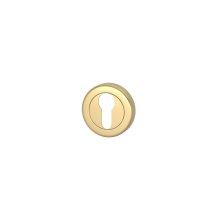 Euro Escutcheons In Polished Brass