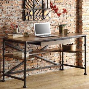 RiversideCamden Town - Writing Desk - Hampton Road Ash Finish