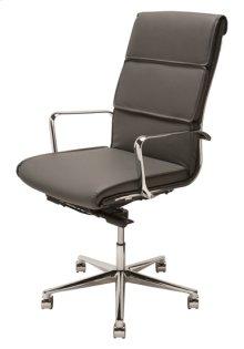 Lucia office chair  black nauga