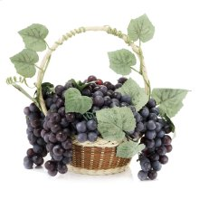 Purple Grape Basket
