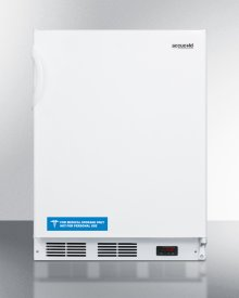 ADA Compliant Commercially Listed -25 c Medical All-freezer for Freestanding Use