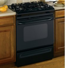 """GE® 30"""" Slide-In Gas Range with Self-Cleaning Oven"""