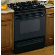"GE® 30"" Slide-In Gas Range with Self-Cleaning Oven"