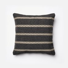 Charcoal / Beige Pillow