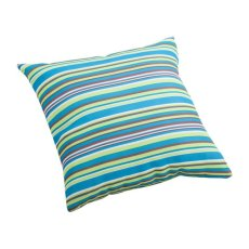Puppy Small Outdoor Pillow Multicolor Stripe Product Image