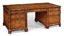 Walnut Faux Partners Desk