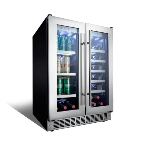 Lorraine 24 French door beverage center.