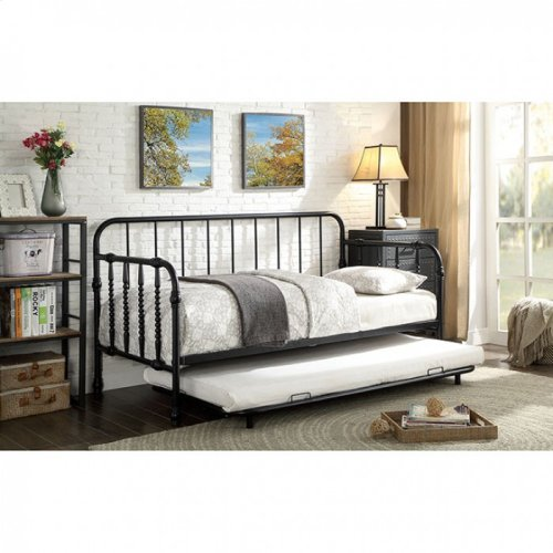 Fern Metal Daybed W/ Trundle