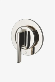 Formwork Two Way Diverter Valve Trim for Thermostatic System with Metal Lever Handle STYLE: FM2T10
