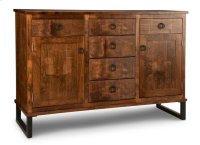 Cumberland Sideboard w/2 Wood Doors & 6/Dwrs & 2/Wood Adjust. Product Image