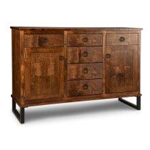 Cumberland Sideboard w/2 Wood Doors & 6/Dwrs & 2/Wood Adjust.