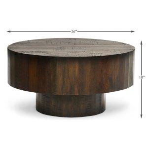Sarreid Ltd Old Barnwood Cocktail Table