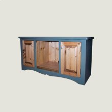 TV Stand with 2 doors & 2 shelves