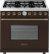Additional Range DECO 36'' Classic Brown matte, Bronze 6 gas, gas oven